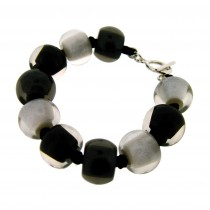 COLOR BALL BRACELET. GREYS