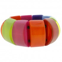 COLOR STRETCH BRACELET.  SPECTRUM
