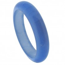 NARROW BANGLE. LIGHT BLUE
