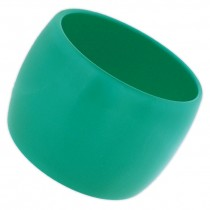 WIDE CUFF BANGLE. TURQUOISE