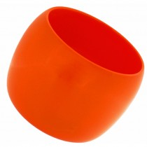 WIDE CUFF BANGLE. ORANGE