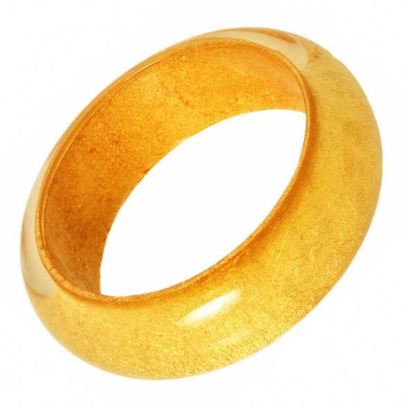 GOLD LEAF BANGLE