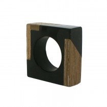 FUZION  SQUARE RING BLACK/. LARGE