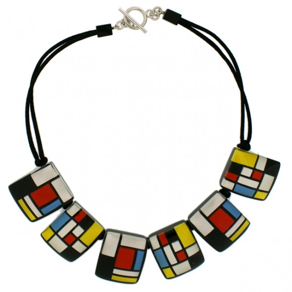 HOMAGE 6 BEAD NECKLACE. CLASSIC