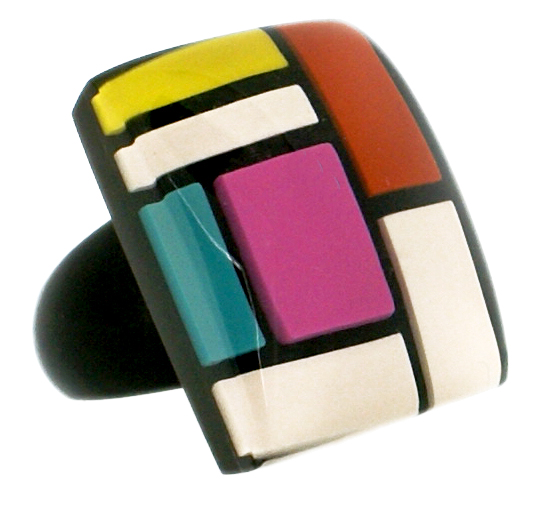 HOMAGE SQUARE RING. SOFT