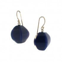 ARABESQUE EARRING. ROYAL BLUE
