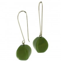 ARABESQUE EARRING. LIME GREEN