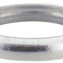 SILVER FILLED BANGLE. THIN.