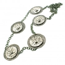 Long Aluminium Necklace