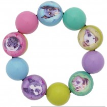 Dog Stretch Ball Bracelet. Multi