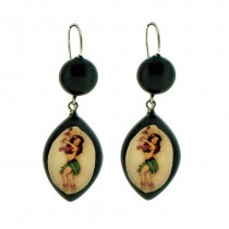 Hawaiian Dancer Earrings