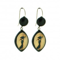 Sailor Tattoo Image Earring